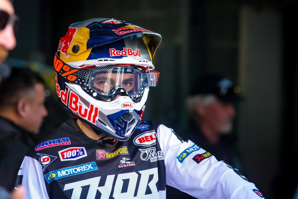 Supercross Las Vegas Race links Webb 2019