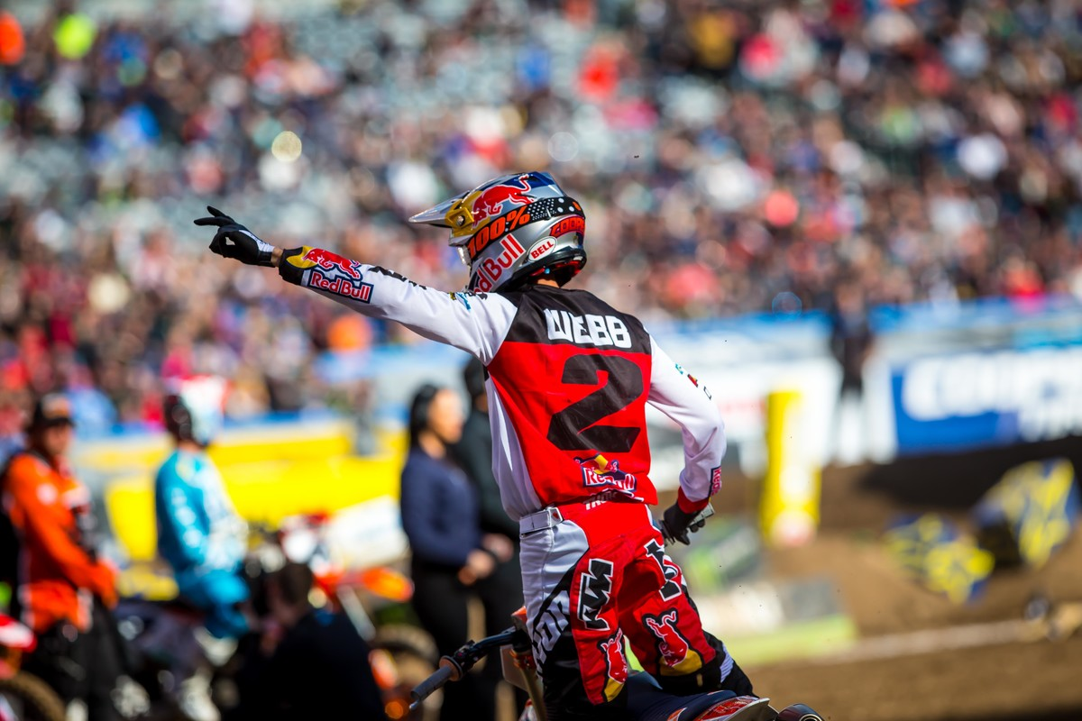 Supercross Las Vegas Webb 2019
