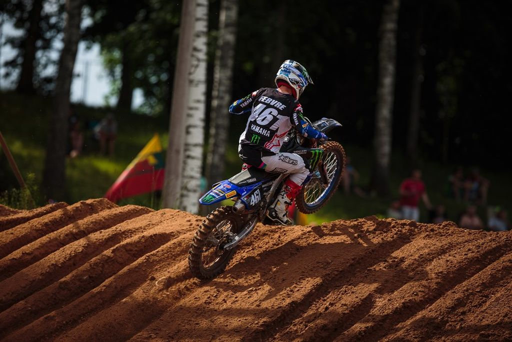 MXGP of Latvia Febvre moto 2 2019