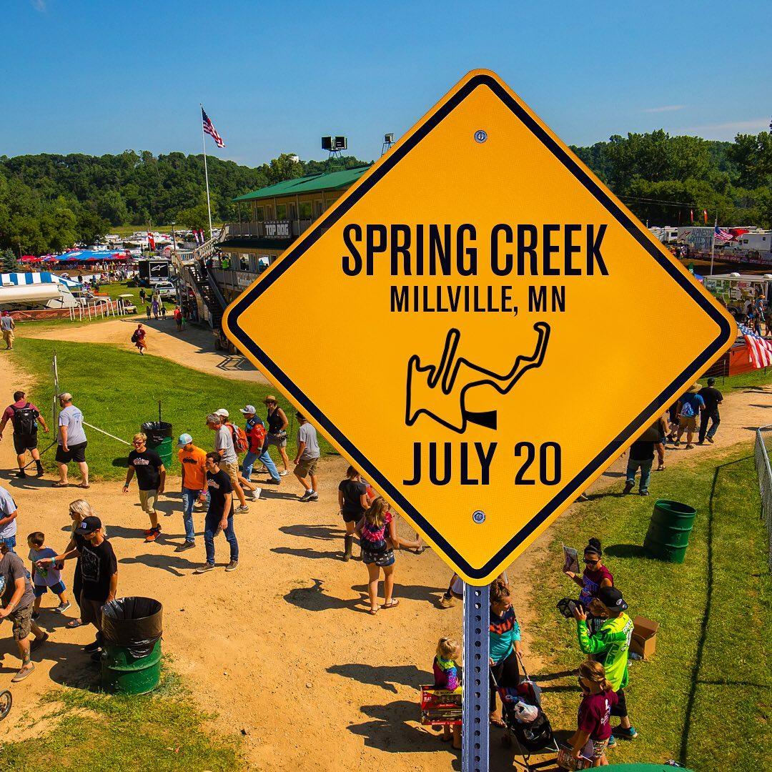AMA National Spring Creek Race Links 2019