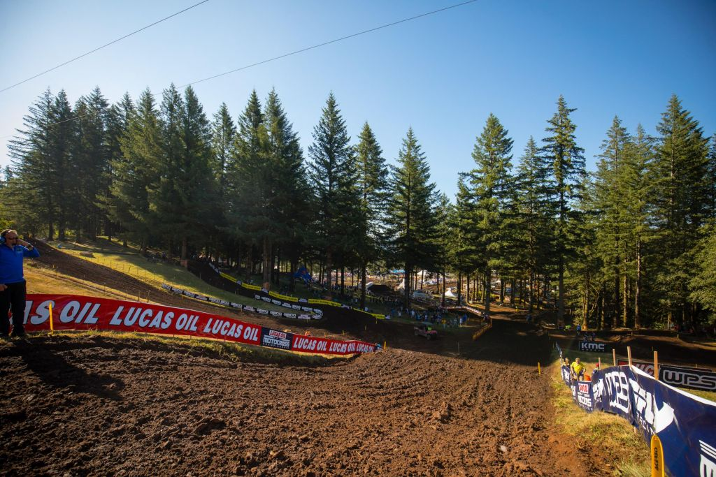 AMA National Washougal Race Links track 2019
