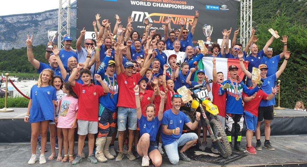 La Maglia Azzurra è Campione del Mondo Motocross Junior A