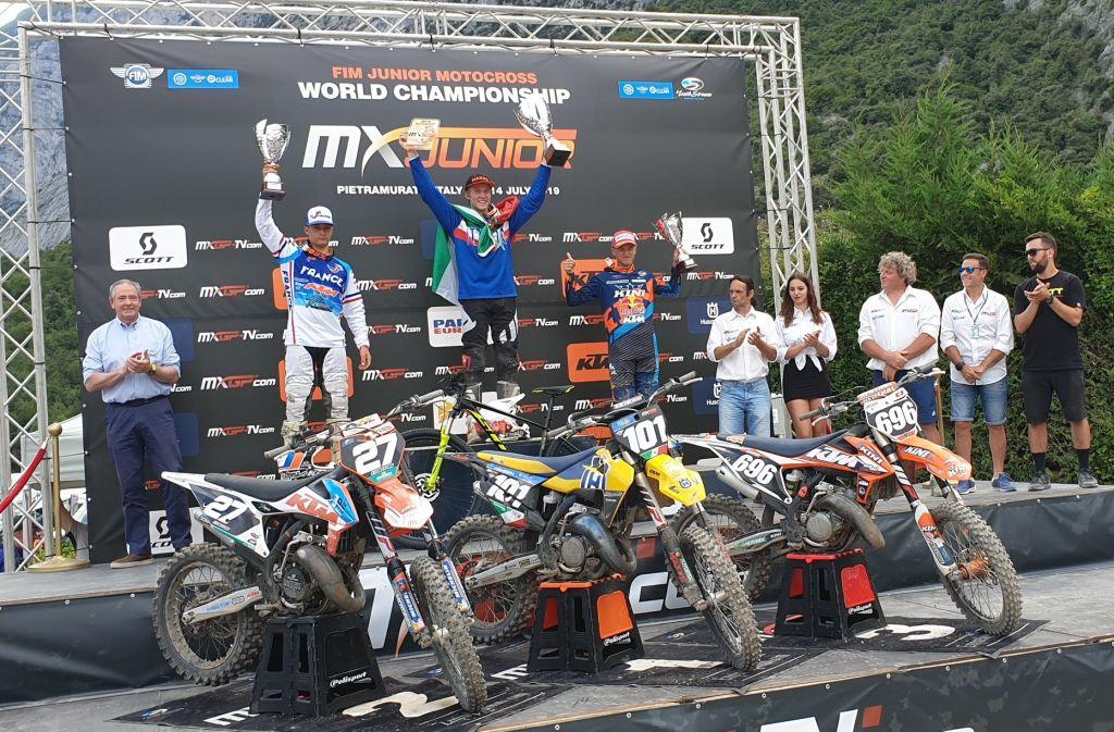 La Maglia Azzurra è Campione del Mondo Motocross Junior