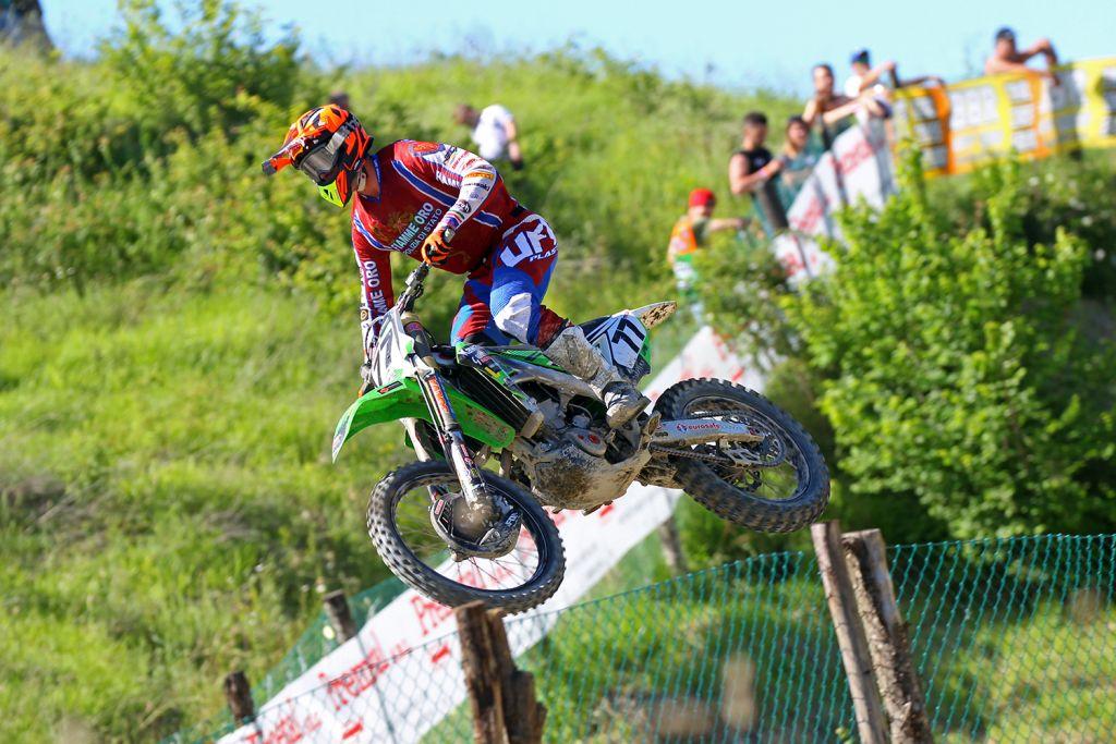 Lupino al via del Gran Premio della Repubblica Ceca A