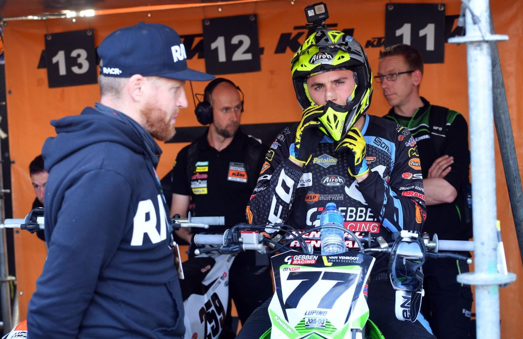 Lupino al via del Gran Premio della Repubblica Ceca