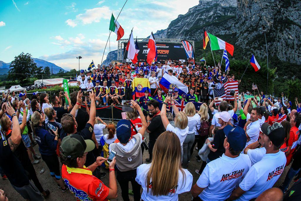 MXJunior 2019 Trentino Guadagnini e Russi in pole