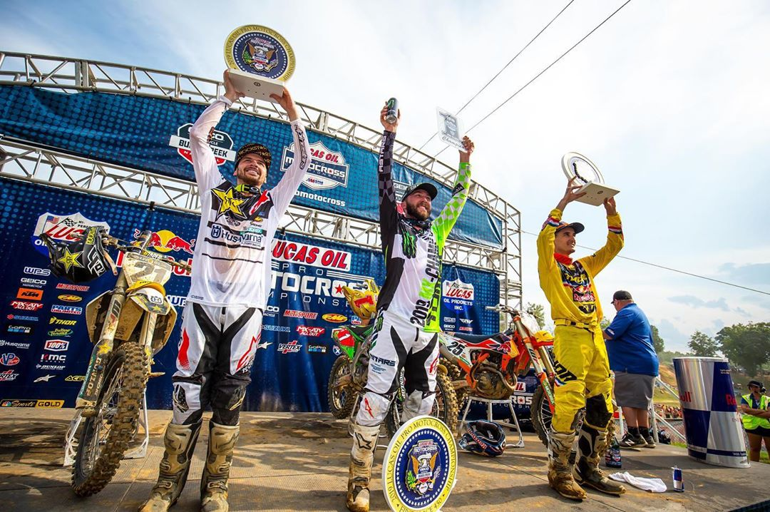 AMA National Budds Creek podio 450 2019