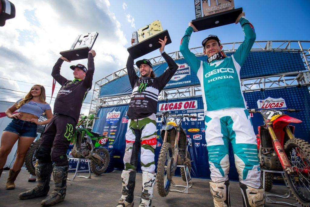 AMA National Unadilla podio 250 2019