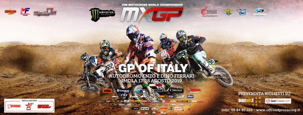 MXGP of Italy Tutto pronto ad Imola banner