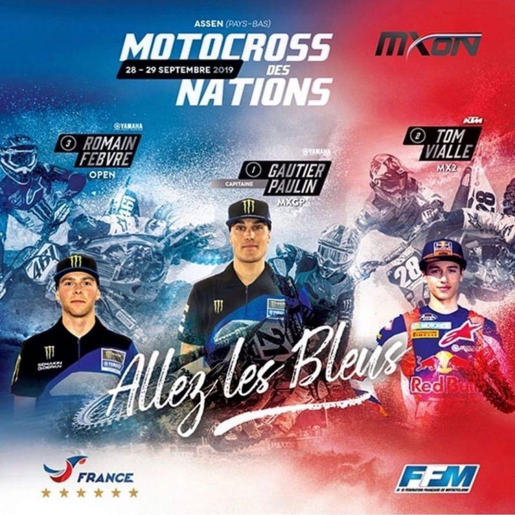 MXoN 2019 Assen Team France - Belgio - Svizzera