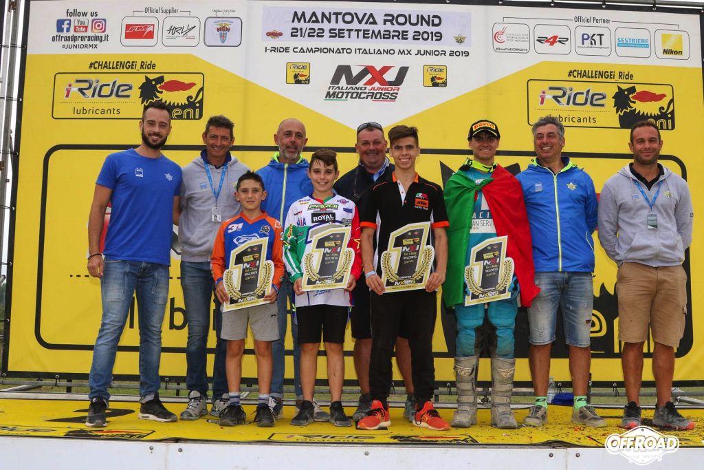 Italiano MX Junior Mantova incorona i campioni 2019