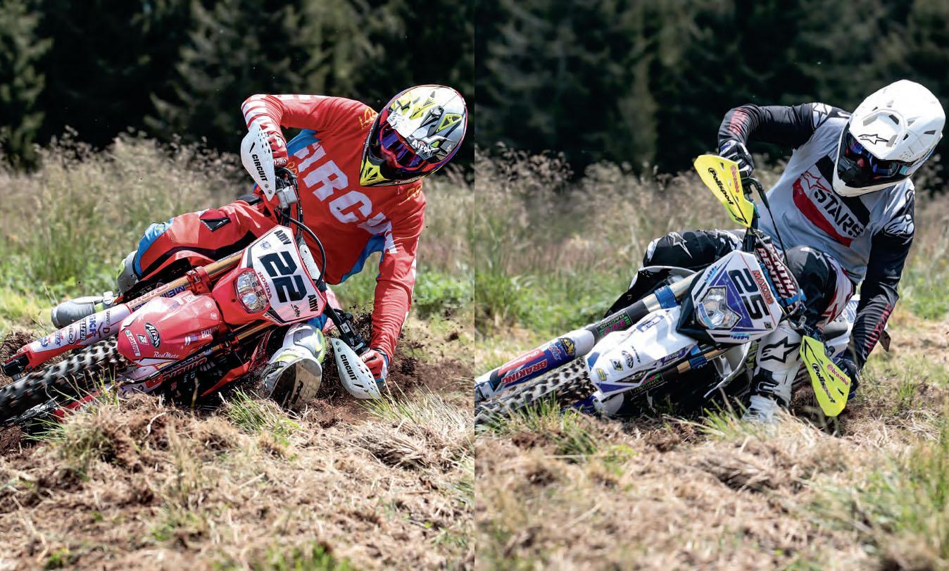 Honda Thomas Oldrati vs Sherco Matteo Cavallo