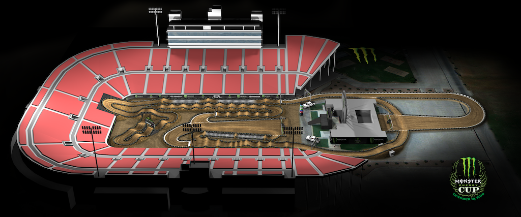Monster Energy Cup 2019 track