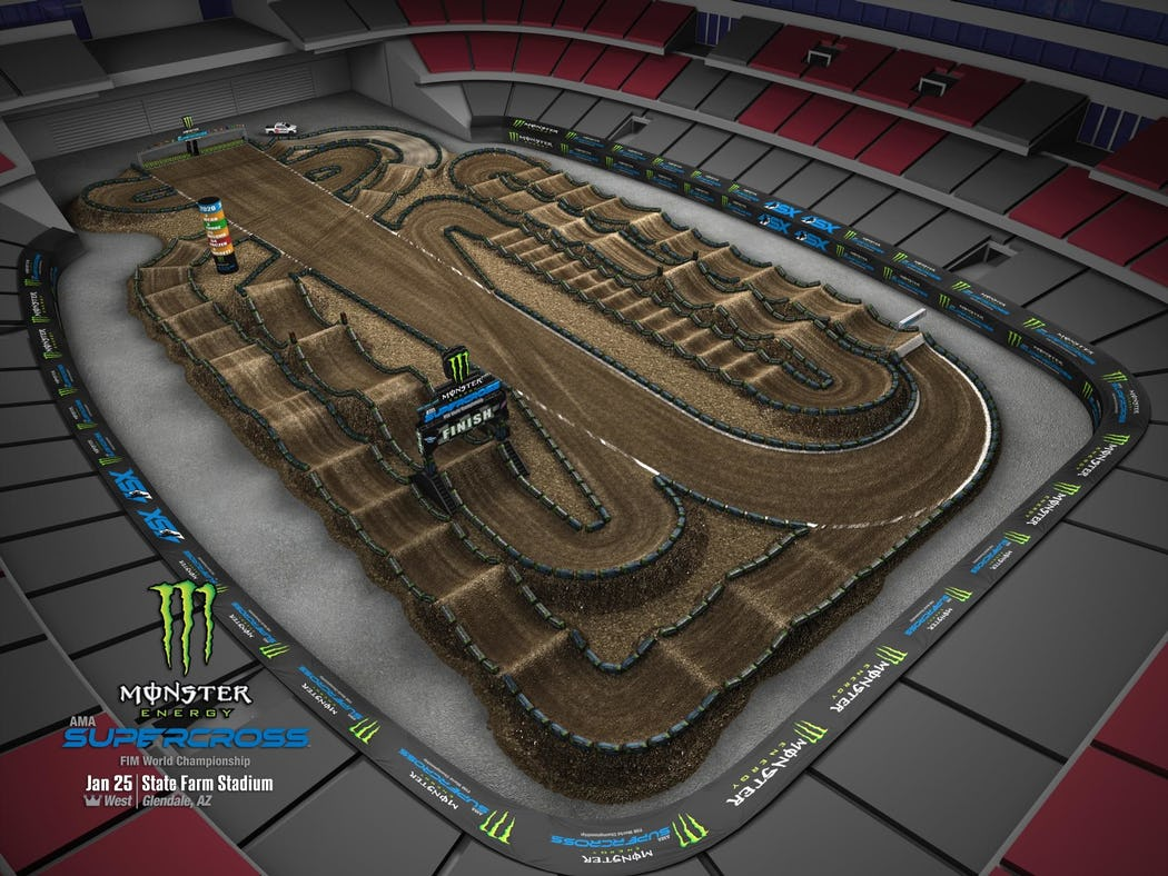 Supercross 2020 Track Maps track 4