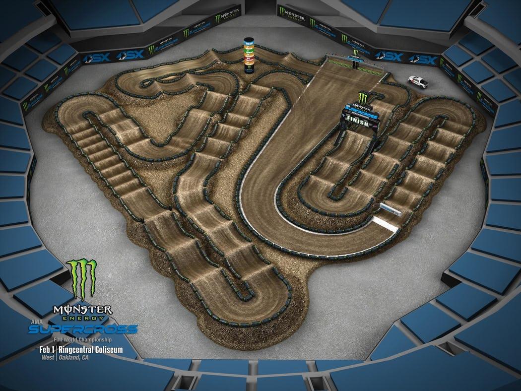 Supercross 2020 Track Maps track 5