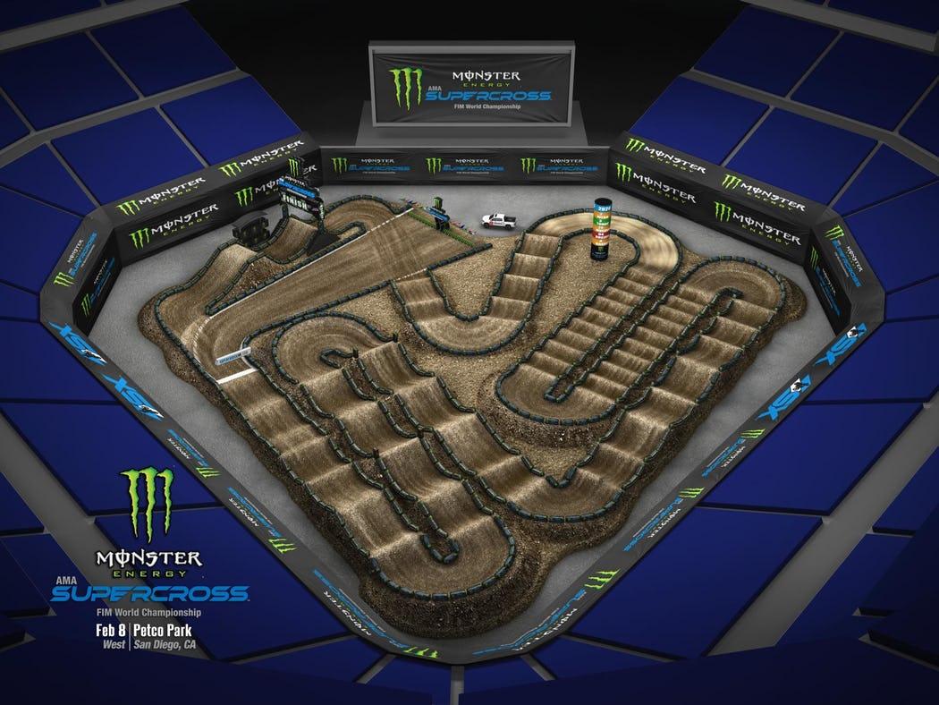 Supercross 2020 Track Maps track 6
