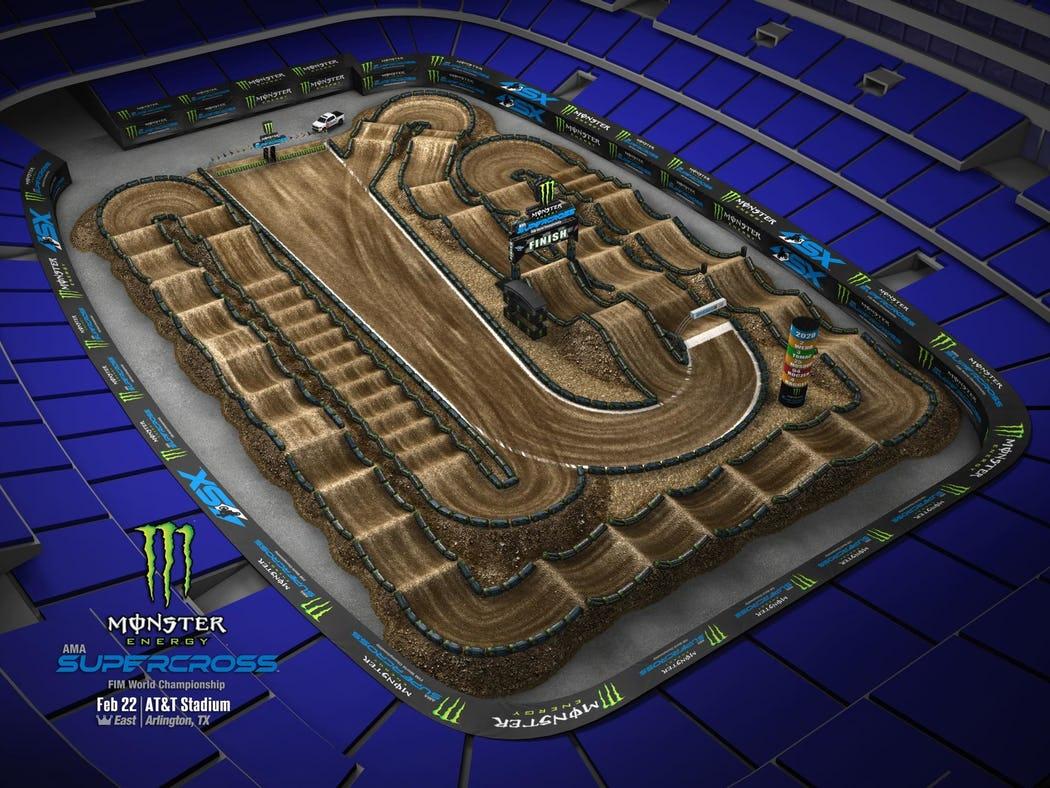 Supercross 2020 Track Maps track 8