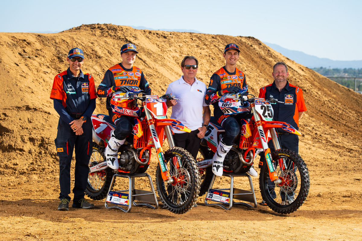 Presentazione 2020 Team Red Bull KTM Usa A