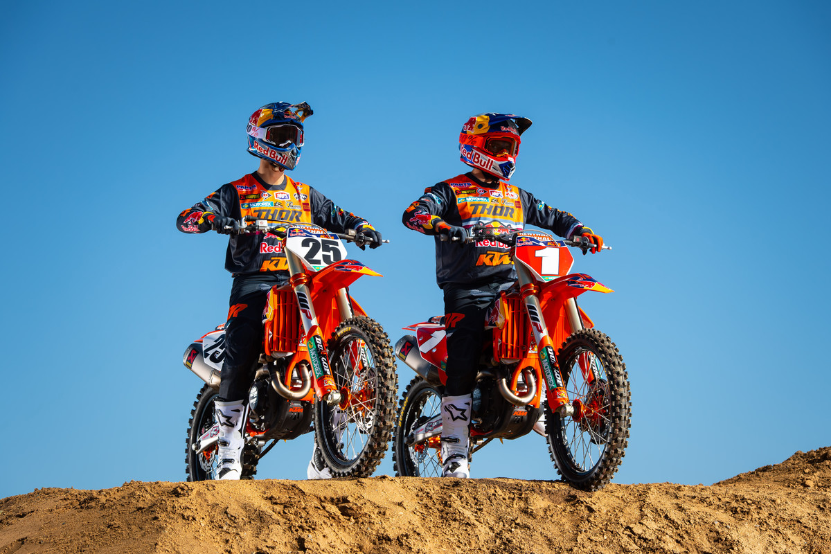 Presentazione 2020 Team Red Bull KTM Usa B