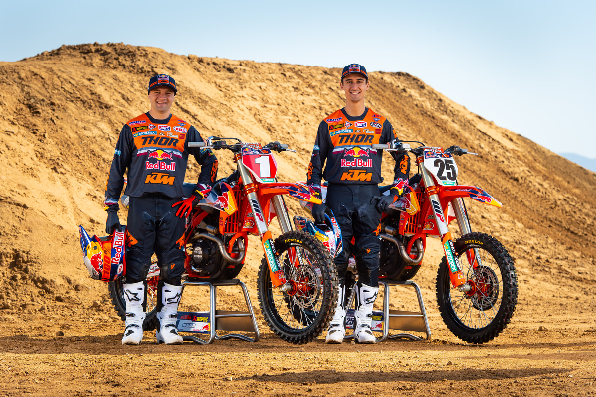 Presentazione 2020 Team Red Bull KTM Usa C