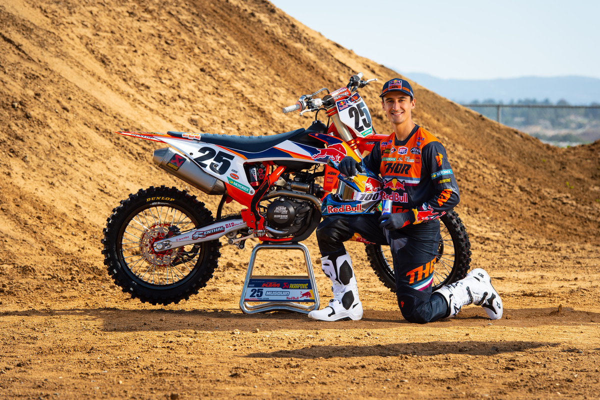 Presentazione 2020 Team Red Bull KTM Usa D