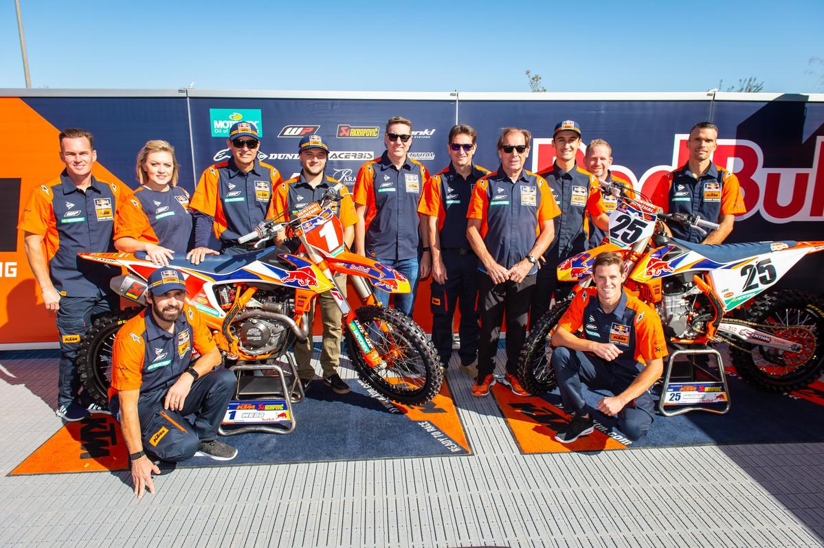 Presentazione 2020 Team Red Bull KTM Usa L