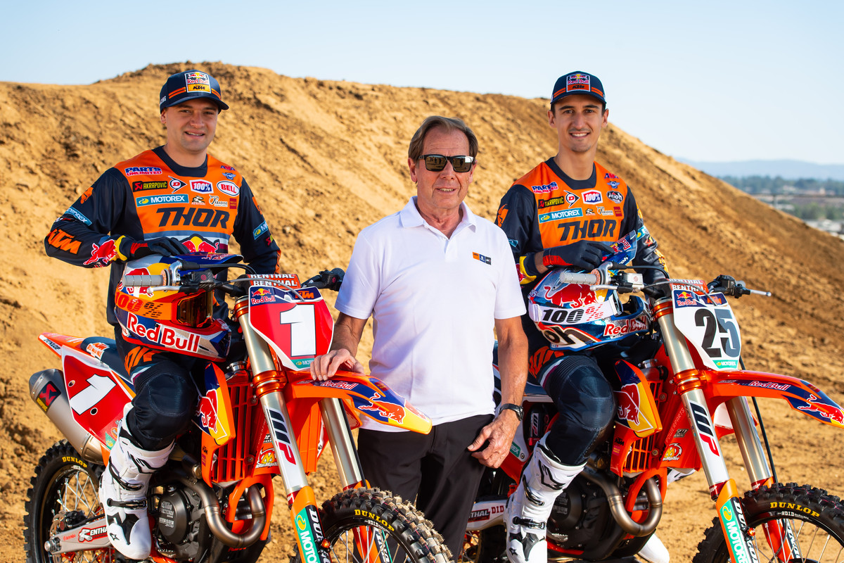 Presentazione 2020 Team Red Bull KTM Usa