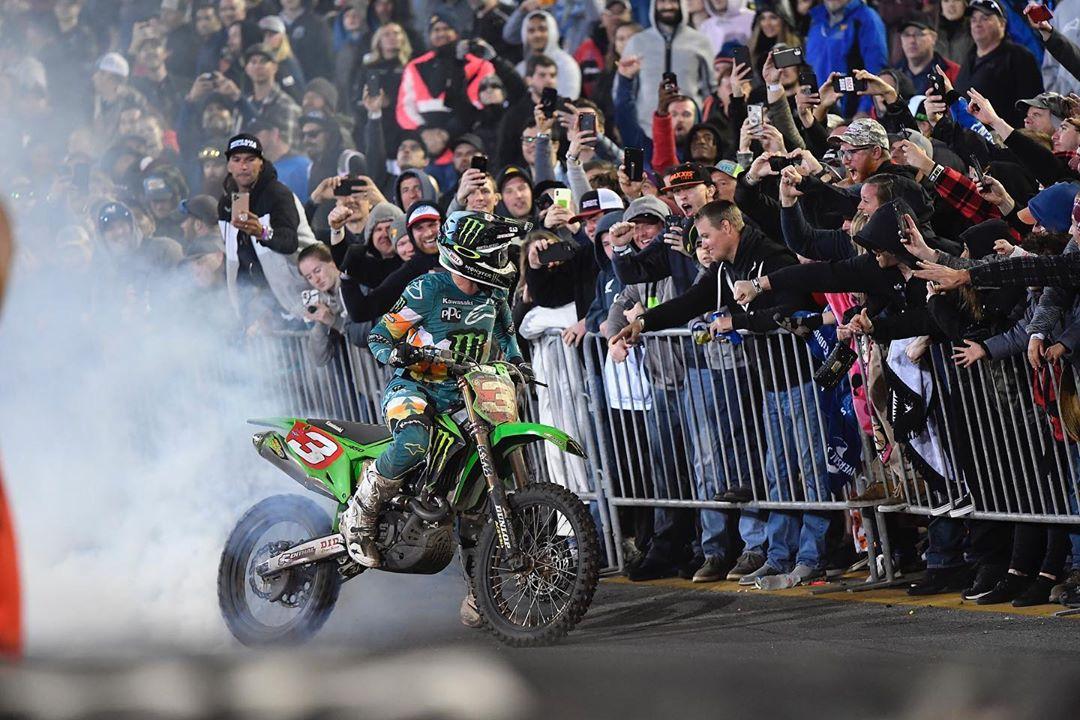 Supercross Daytona Tomac 2020