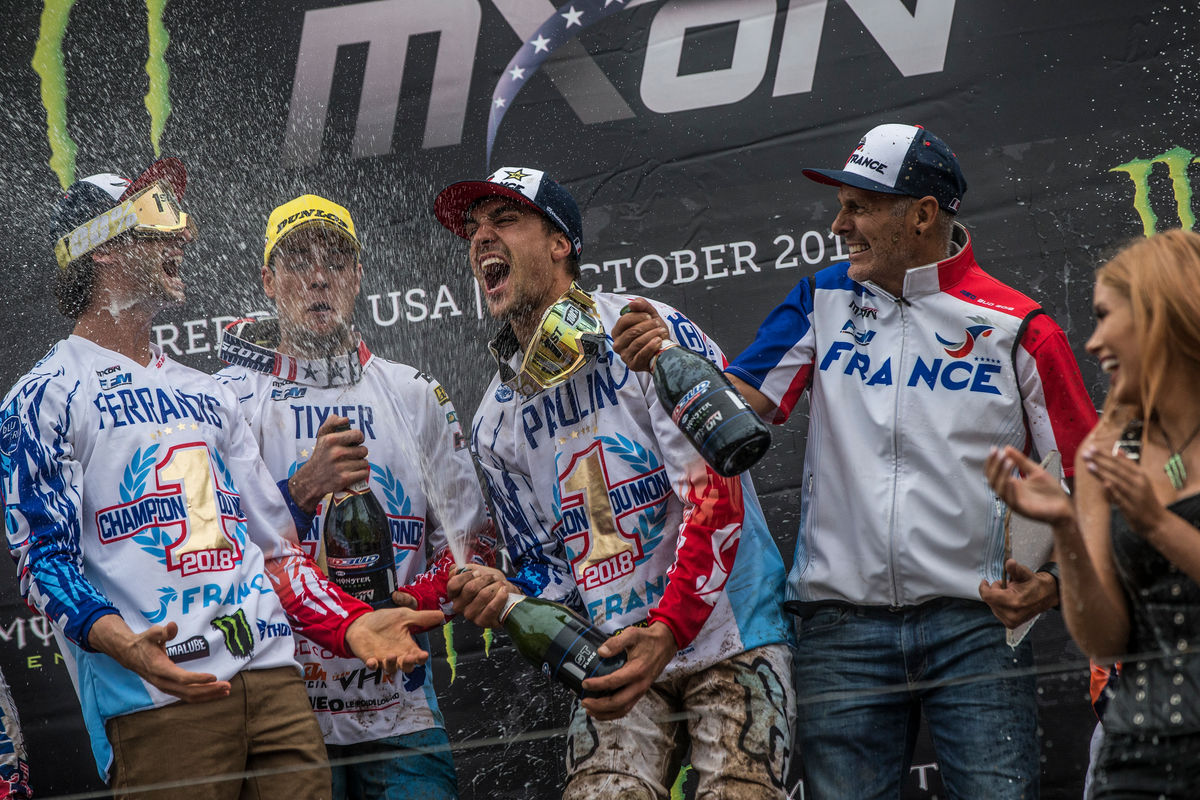 Motocross of Nations History 2018 Usa VIDEO A