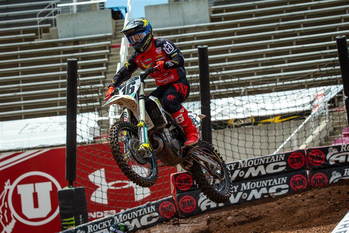 SX Salt Lake City 7 Un podio tutto Rockstar Energy Husqvarna A 2020