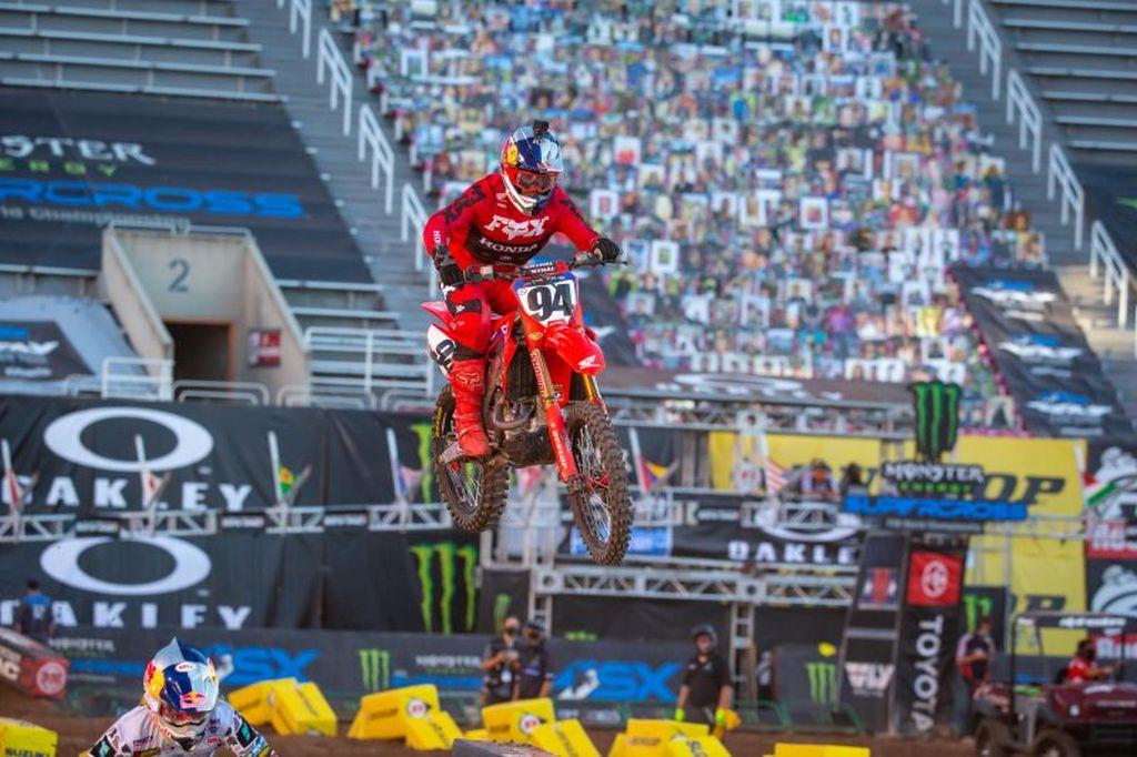 Supercross Salt Lake City 4 VIDEO Go Pro Roczen 2020