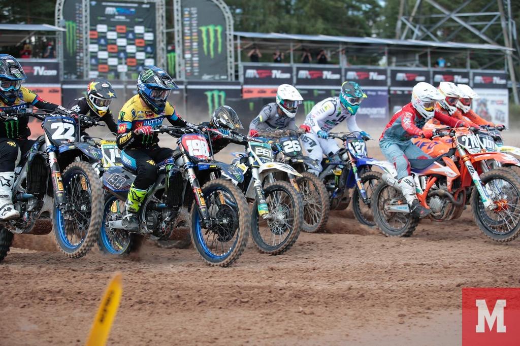EMX 250 of Rigastart race 2 2020
