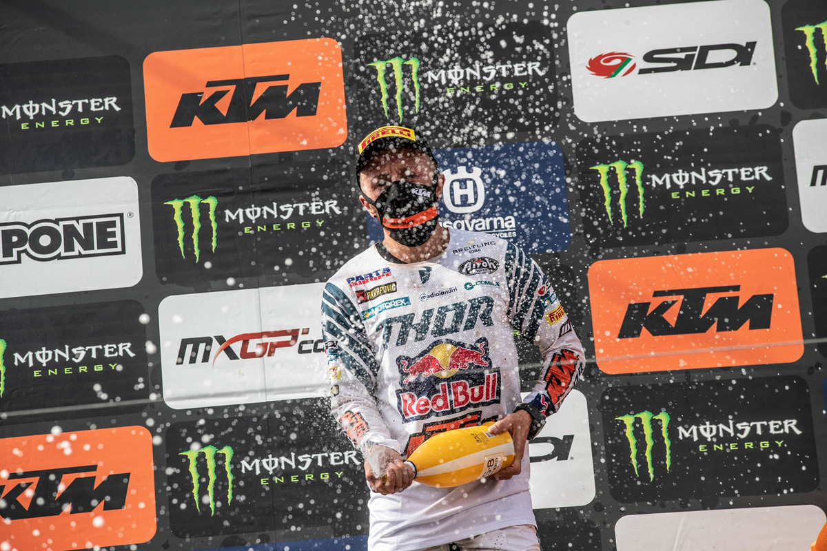 MXGP of Riga La Pagella Mid-sand e due 2020 Cairoli