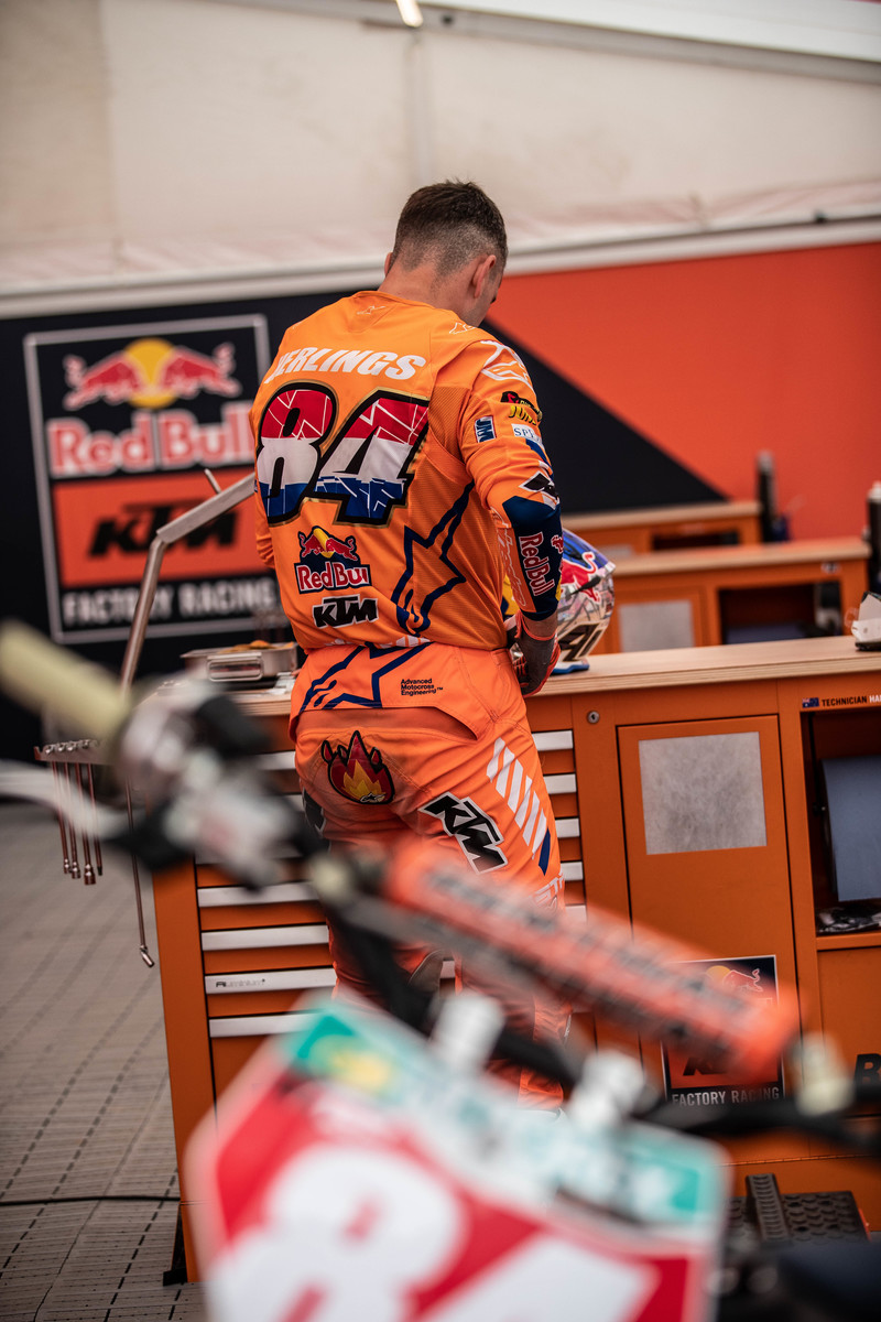 MXGP of Riga La Pagella Mid-sand e due 2020 Herlings