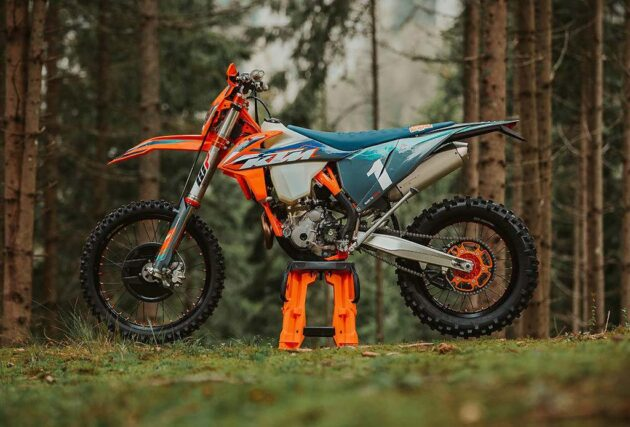 NUOVA KTM 350 EXC-F WESS SPECIAL EDITION