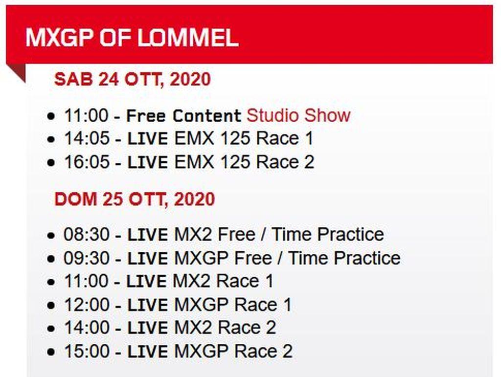 MXGP-of-Lommel-TV-schedule-Race-Links-2020