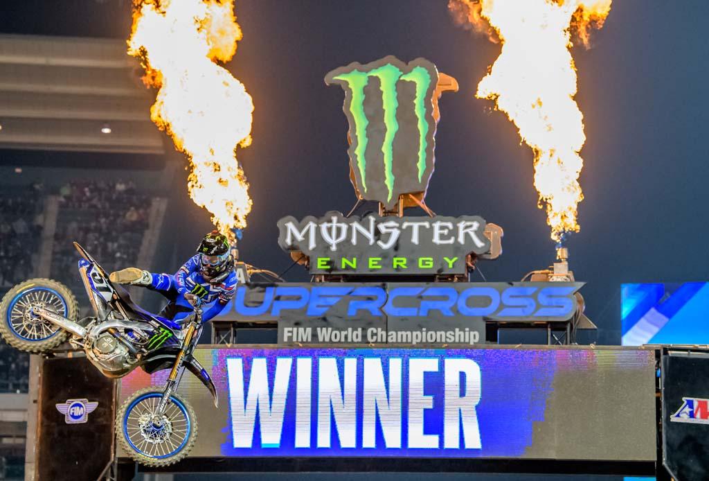 Annunciato il calendario Monster Energy AMA Supercross 2021