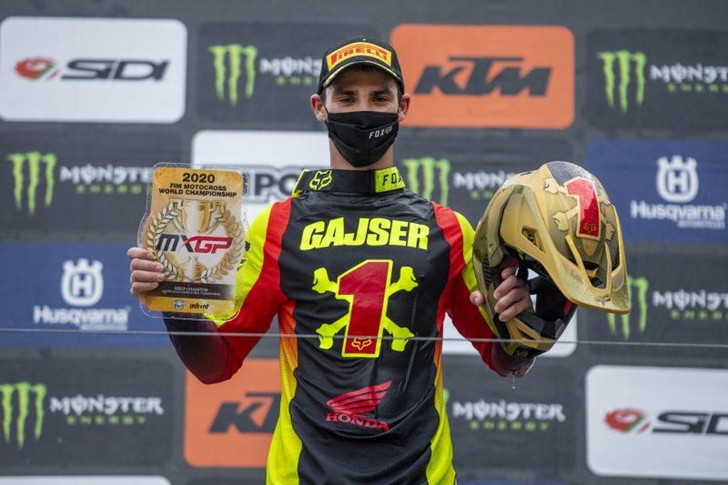 Tim Gajser È incredibile essere campione del mondo per la quarta volta 2020
