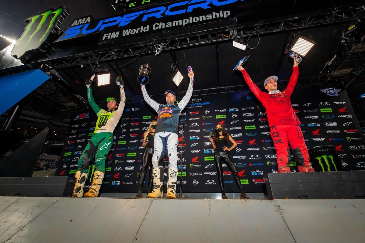 Supercross Arlington 2 commenti dei piloti 2021