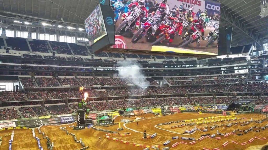 Supercross Arlington VIDEO Trackmap & Entry Lists 2021