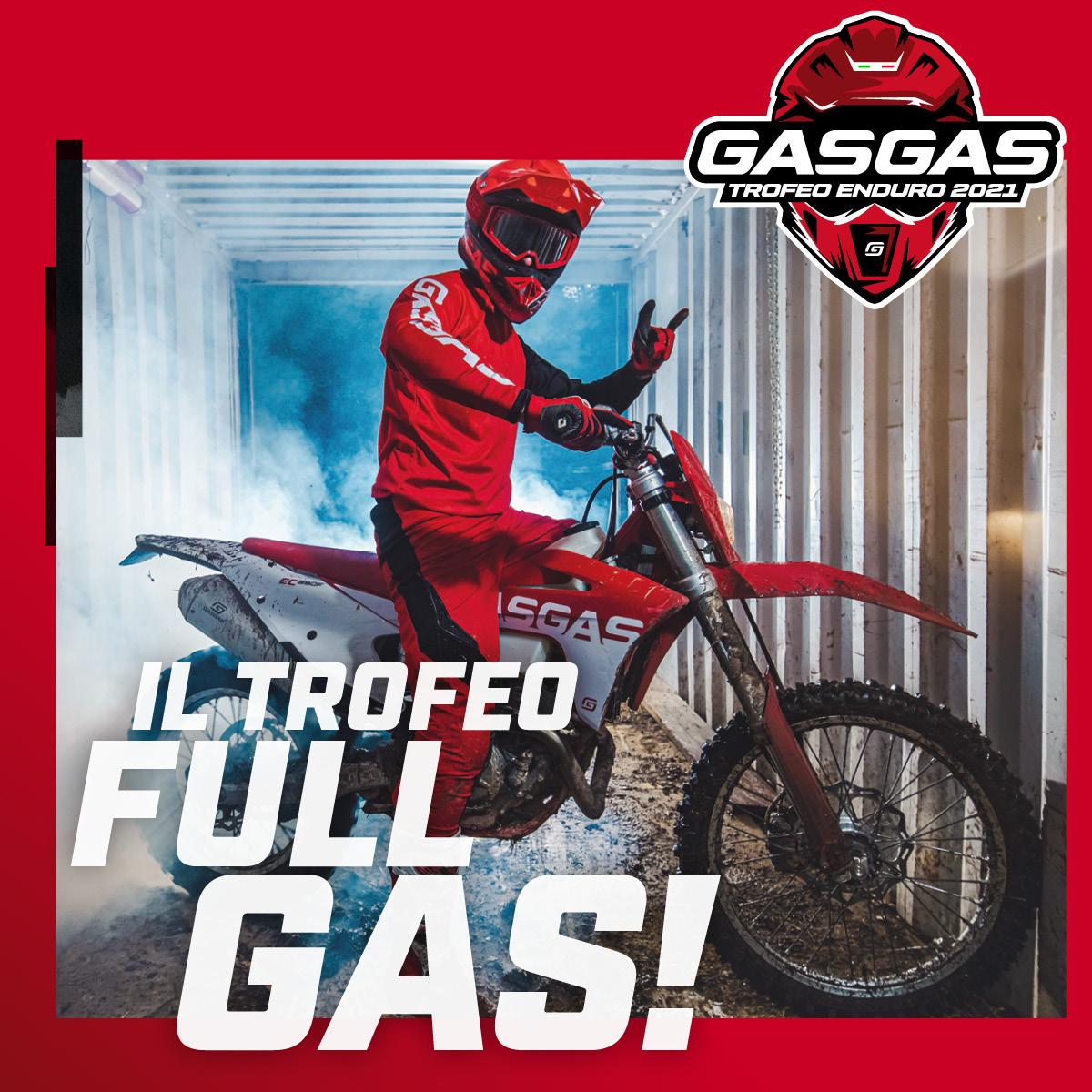 Trofeo Enduro GasGas Accendi l'entusiasmo 2021A