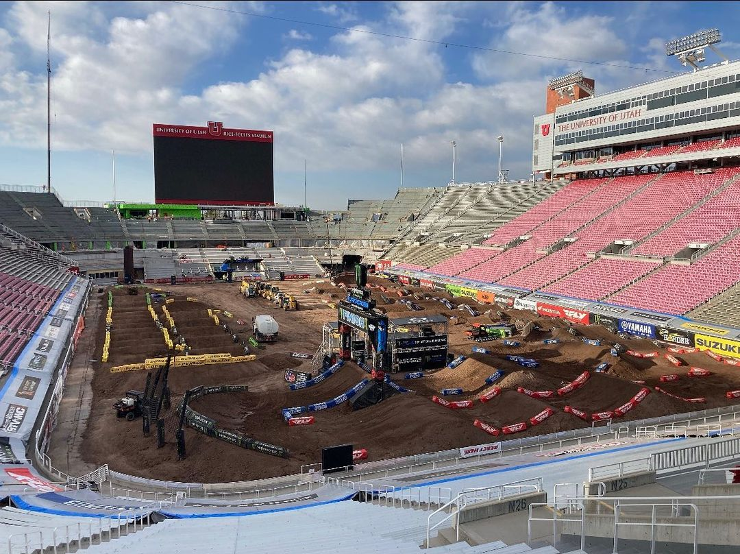 Supercross Salt Lake City 2 Race links 2021