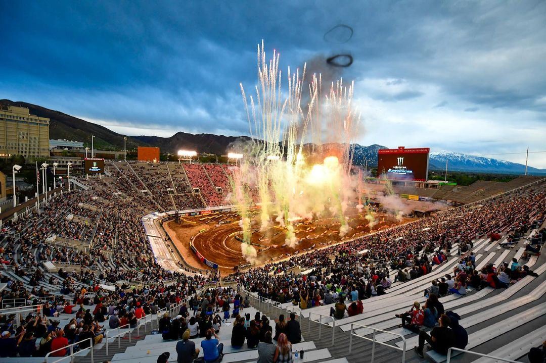 Supercross Salt Lake City 2 VIDEO